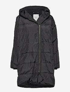 Tuala coat - BLACK
