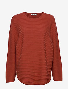 Fiona top - RED OCHRE