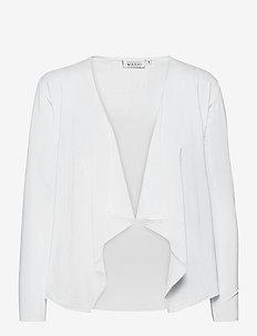 Itally - swetry rozpinane - white