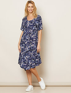 Nane - do kolan & midi sukienki - medieval blue