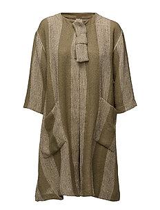 Janette jacket A-shape 3/4 slv - SAGE ORG