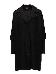 Tracy coat A-shape - BLACK