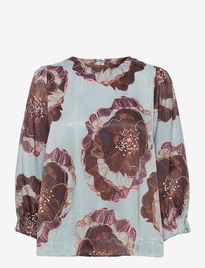 Brisa - blouses met lange mouwen - faded denim