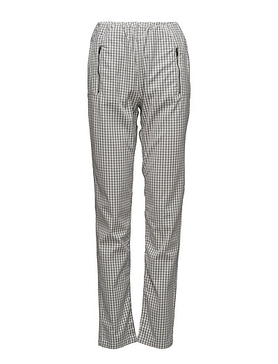 Pearl trousers ew - SHADOW-CREAM