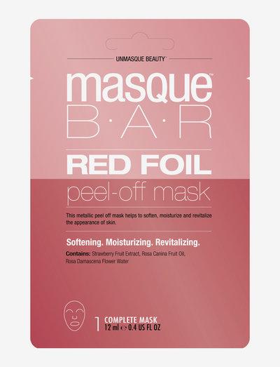 Color Metallics Red - ansiktsmasker - clear