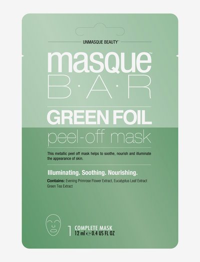 Color Metallics Green - ansiktsmasker - clear
