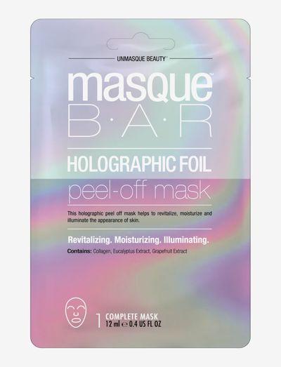 Color Metallics Holographic - ansiktsmasker - clear