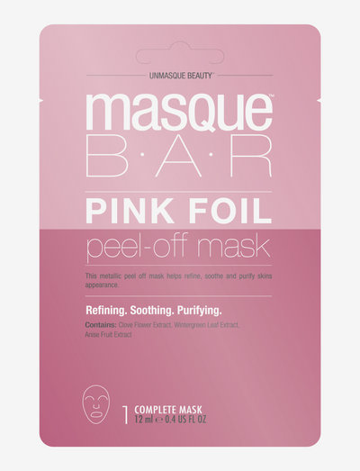 Color Metallics Pink - ansiktsmasker - clear