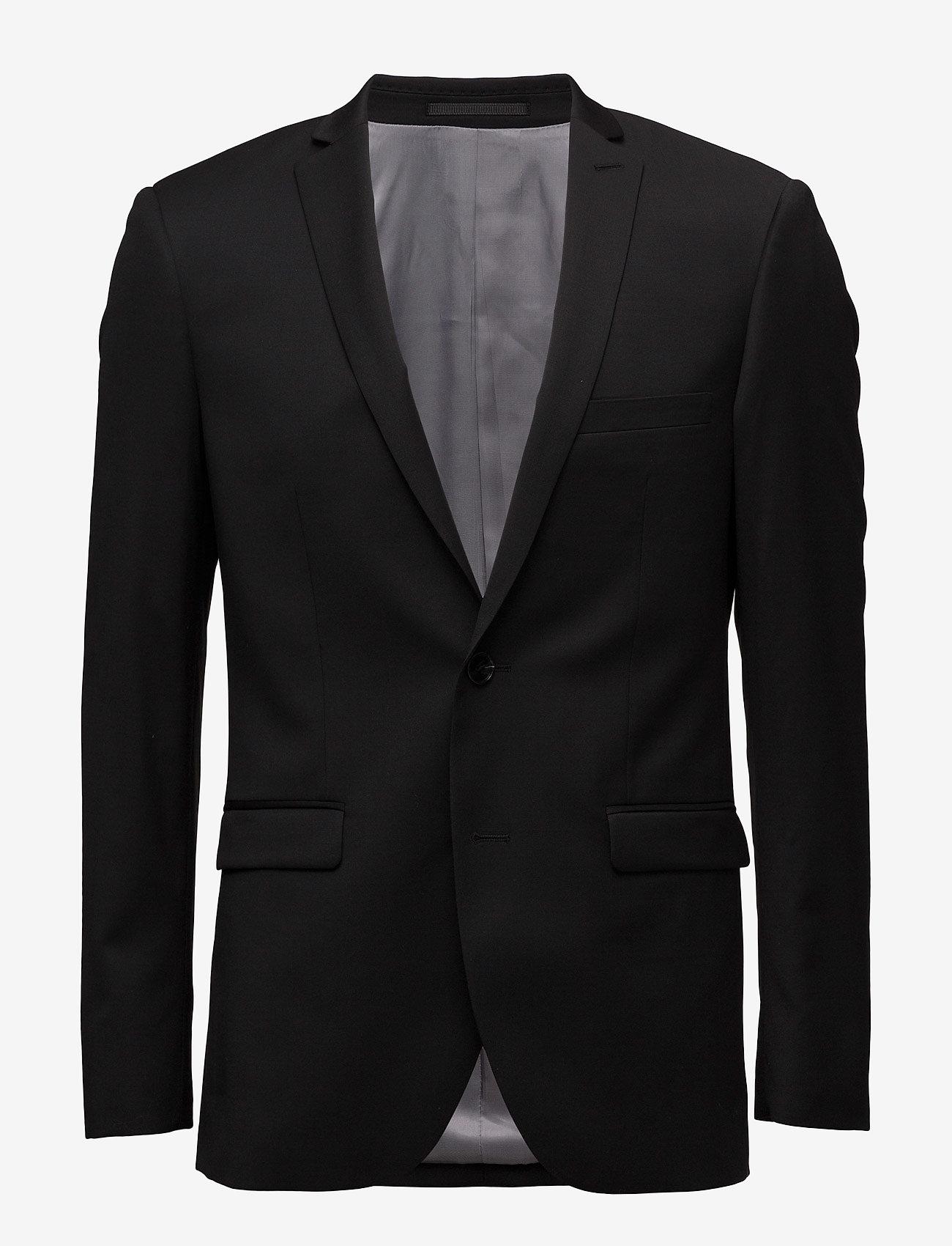 Matinique - George F - single breasted blazers - black - 1
