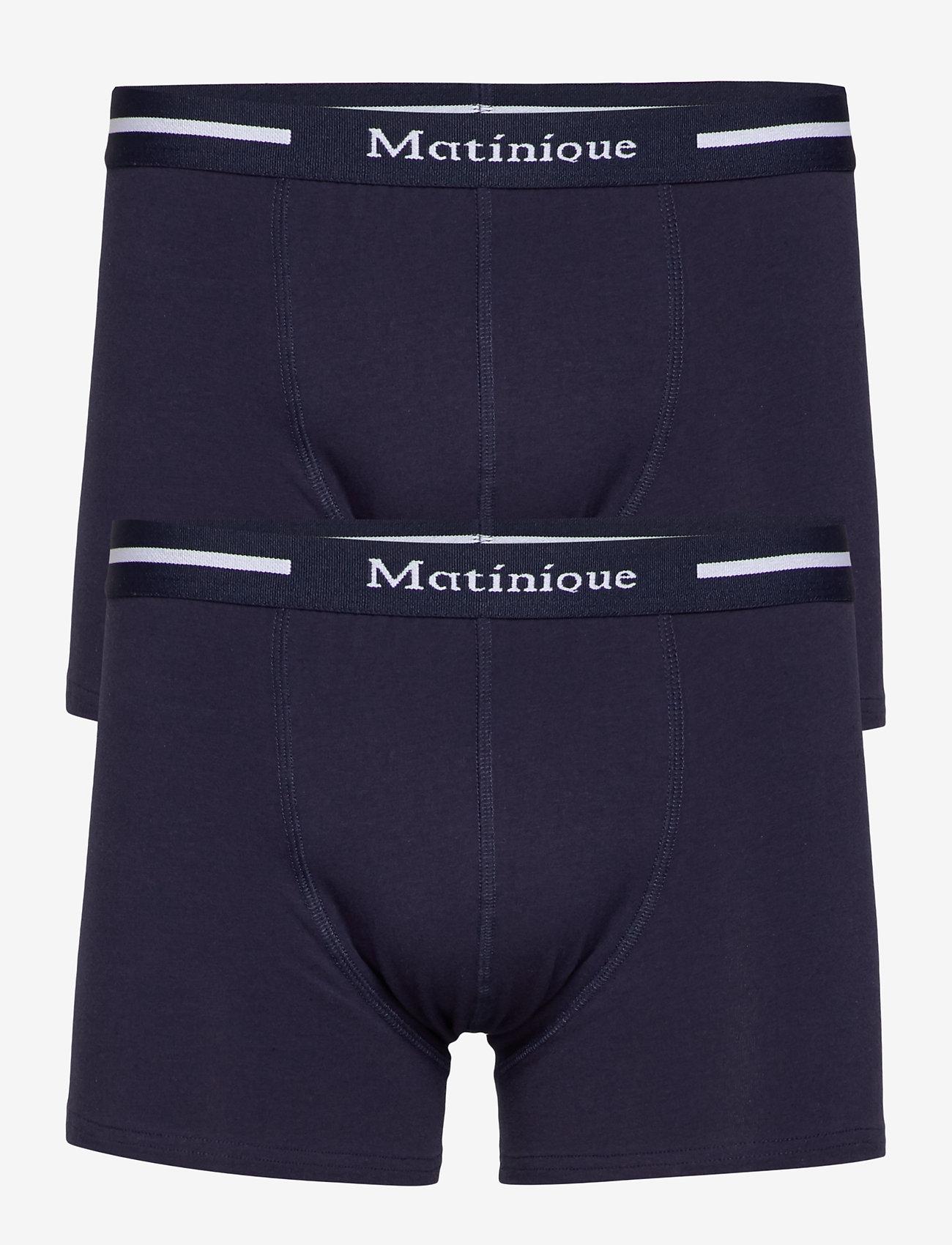 Matinique - N Grant - caleçon - navy blazer - 0