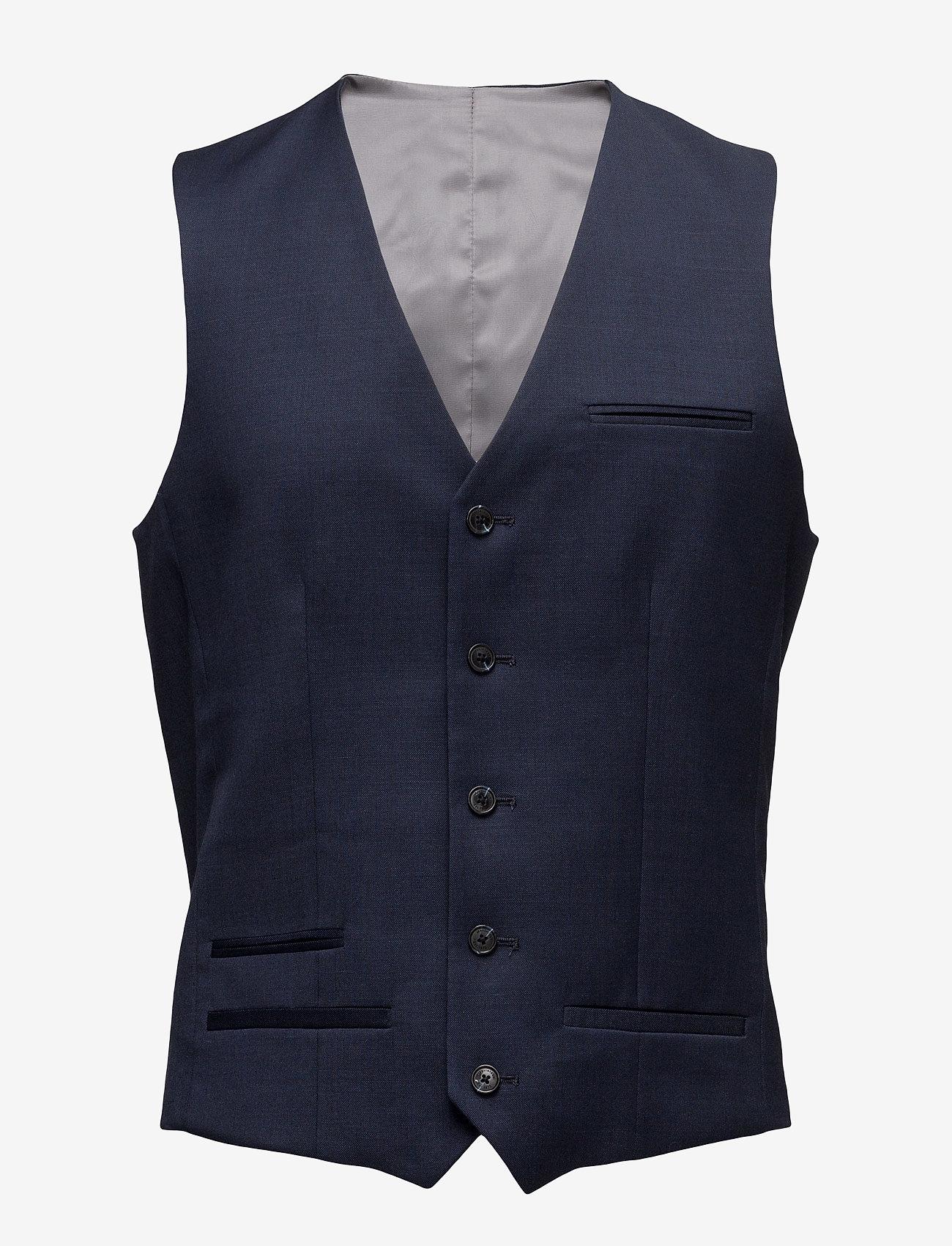 Matinique - Breck - waistcoats - dark navy - 1