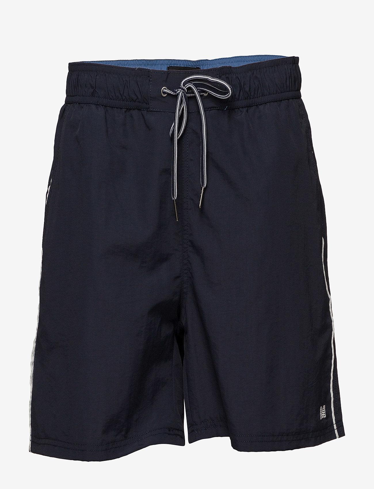 Matinique - Sage Swim Solid Swim - uimashortsit - navy blazer