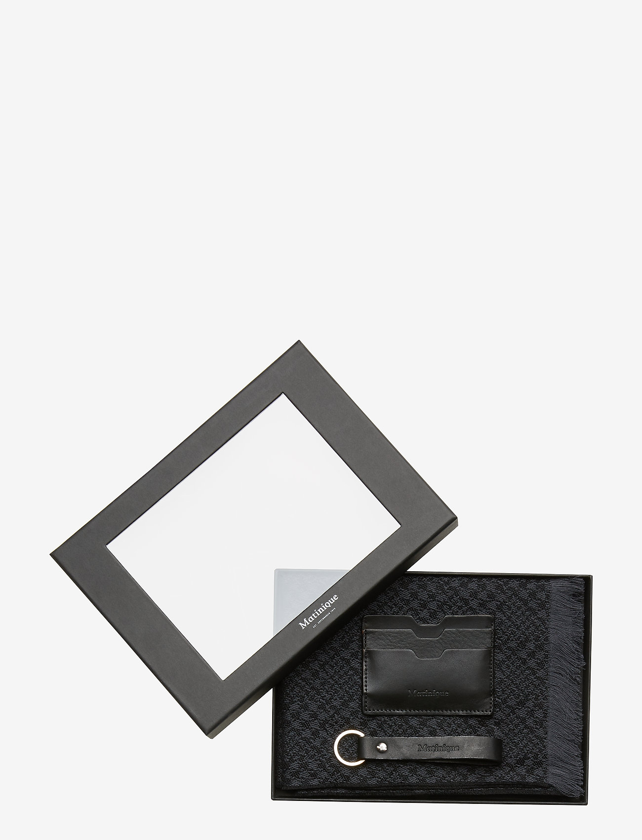 Matinique - Scarf Gift Box - sjaals - black - 1