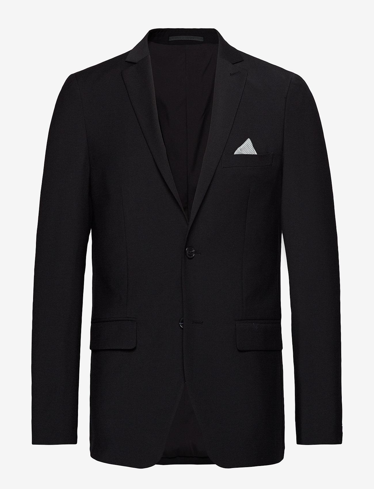 Matinique - Jonathan - single breasted blazers - black - 1