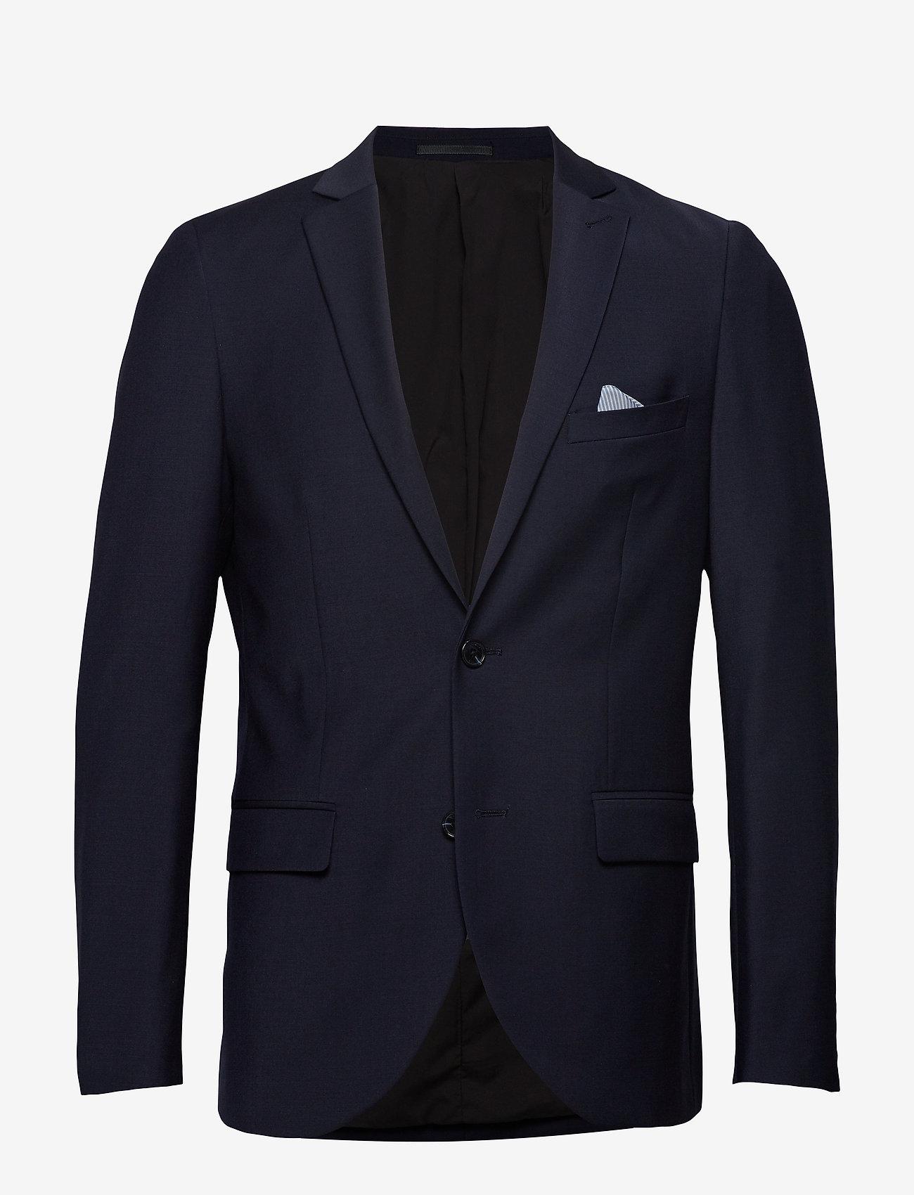 Matinique - Jonathan - enkelknäppta kostymer - navy blazer - 1