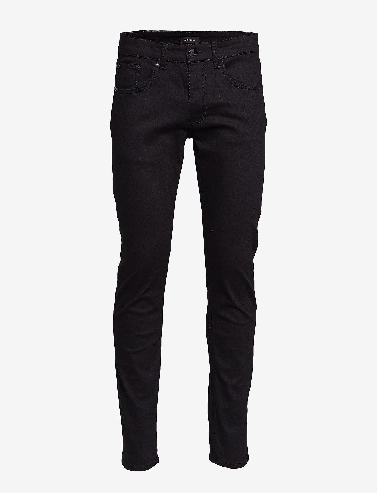Matinique - Priston - slim jeans - black - 1