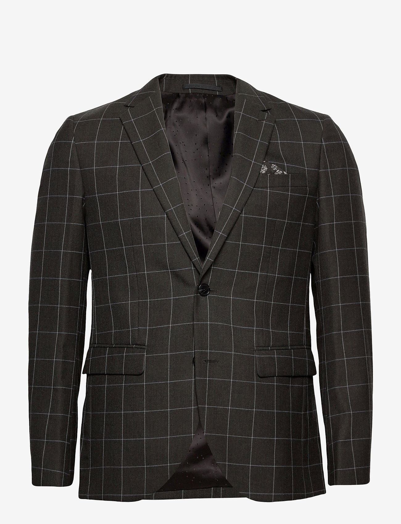 Matinique - George - single breasted blazers - forest night - 1