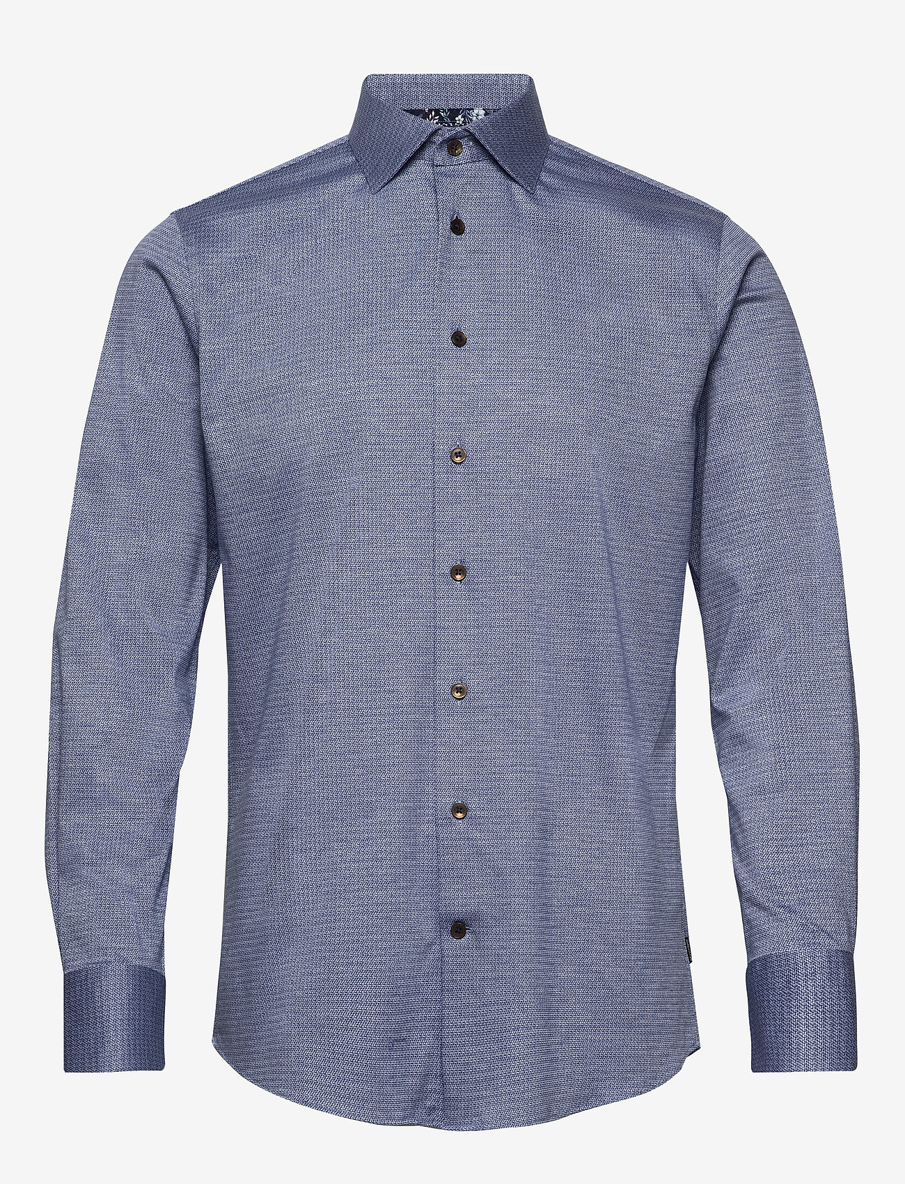 Matinique - MAmarc N - geruite overhemden - ink blue - 1