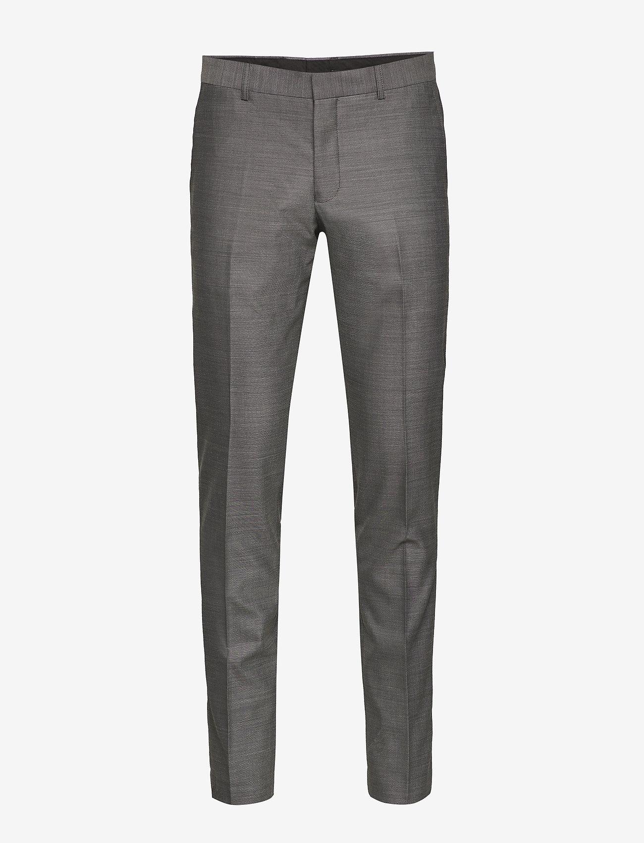 Matinique Melange Weave - Kostymer & Kavajer Light Grey