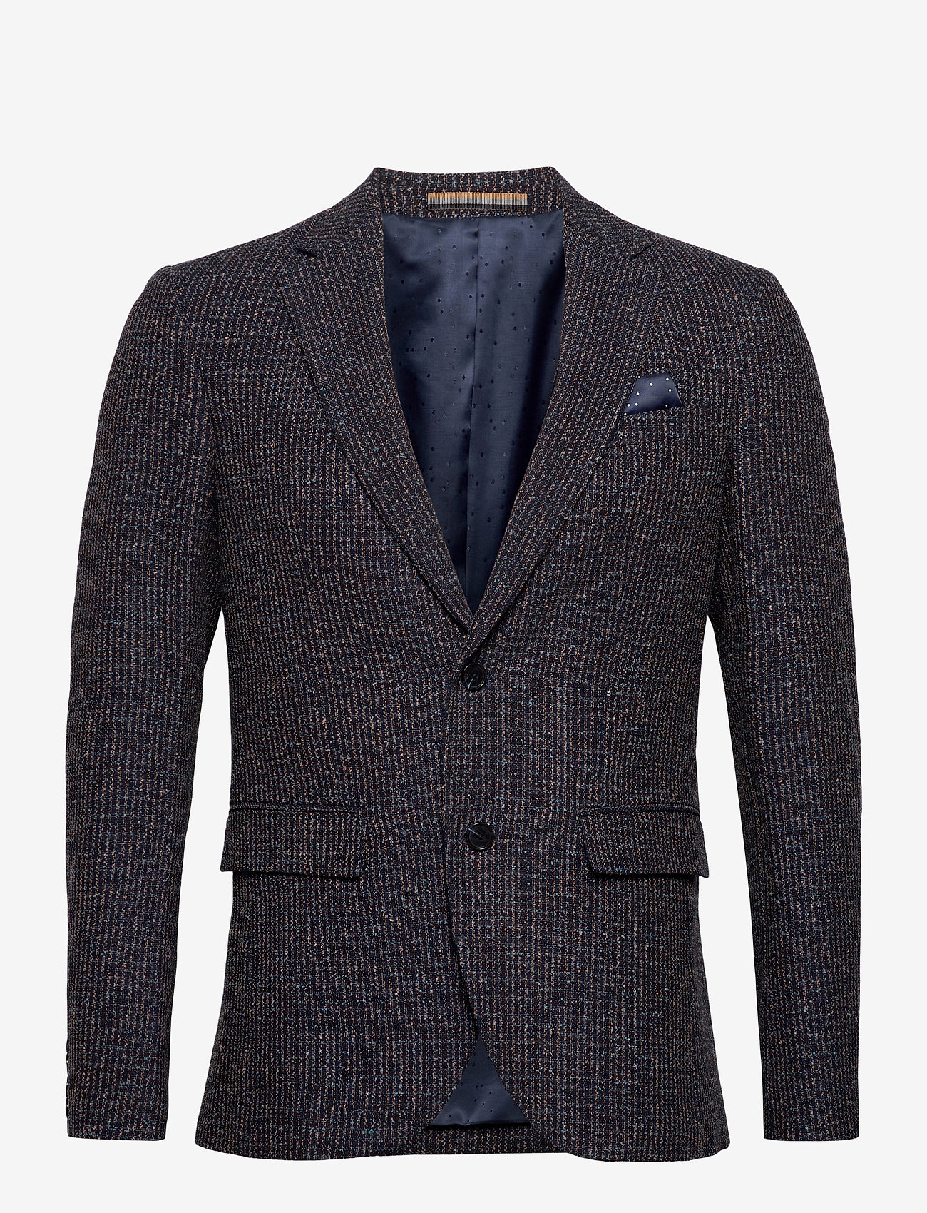 Matinique - MAgeorge - single breasted blazers - dark brown - 0