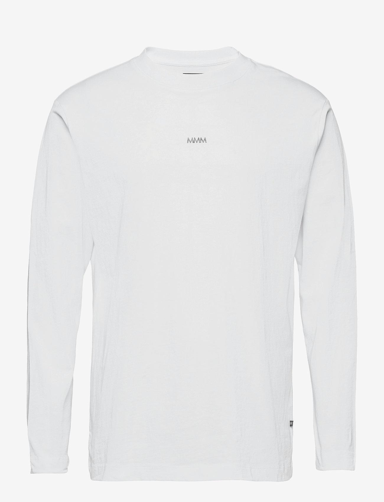 Matinique - MALogo T-shirt LS - t-shirts basiques - white - 1