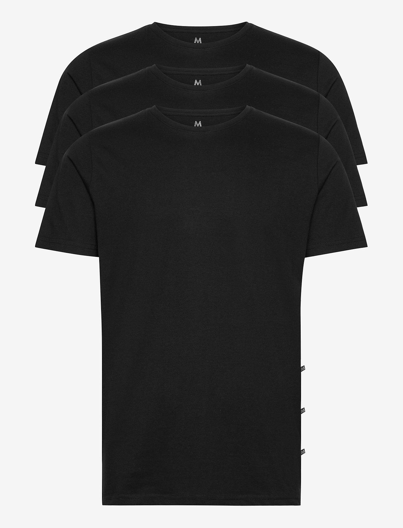 Matinique - MAJermane 3-pack - basic t-shirts - black - 1