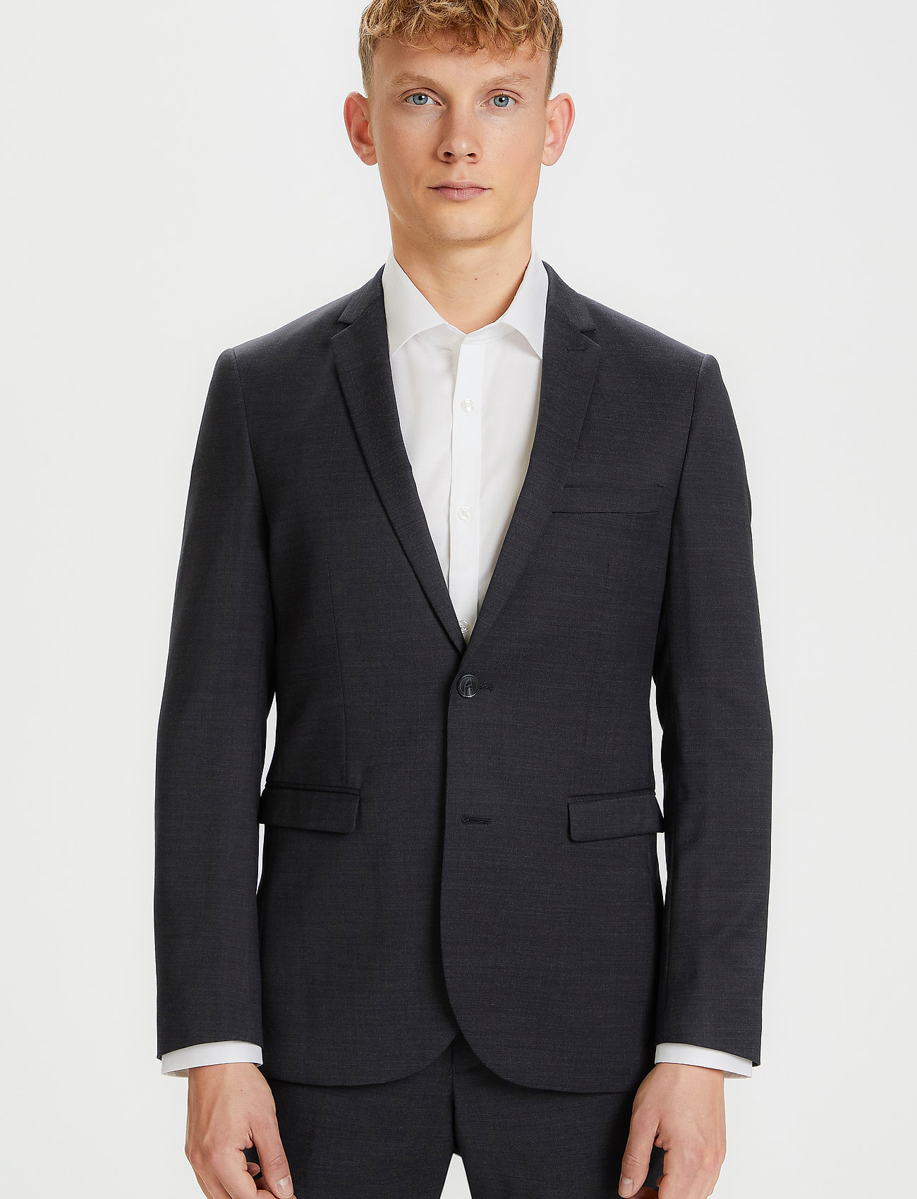 Matinique - George F - single breasted blazers - forged iron - 0