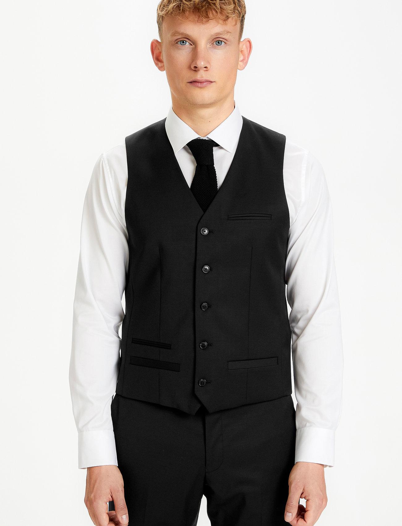 Matinique - Breck - waistcoats - black - 0