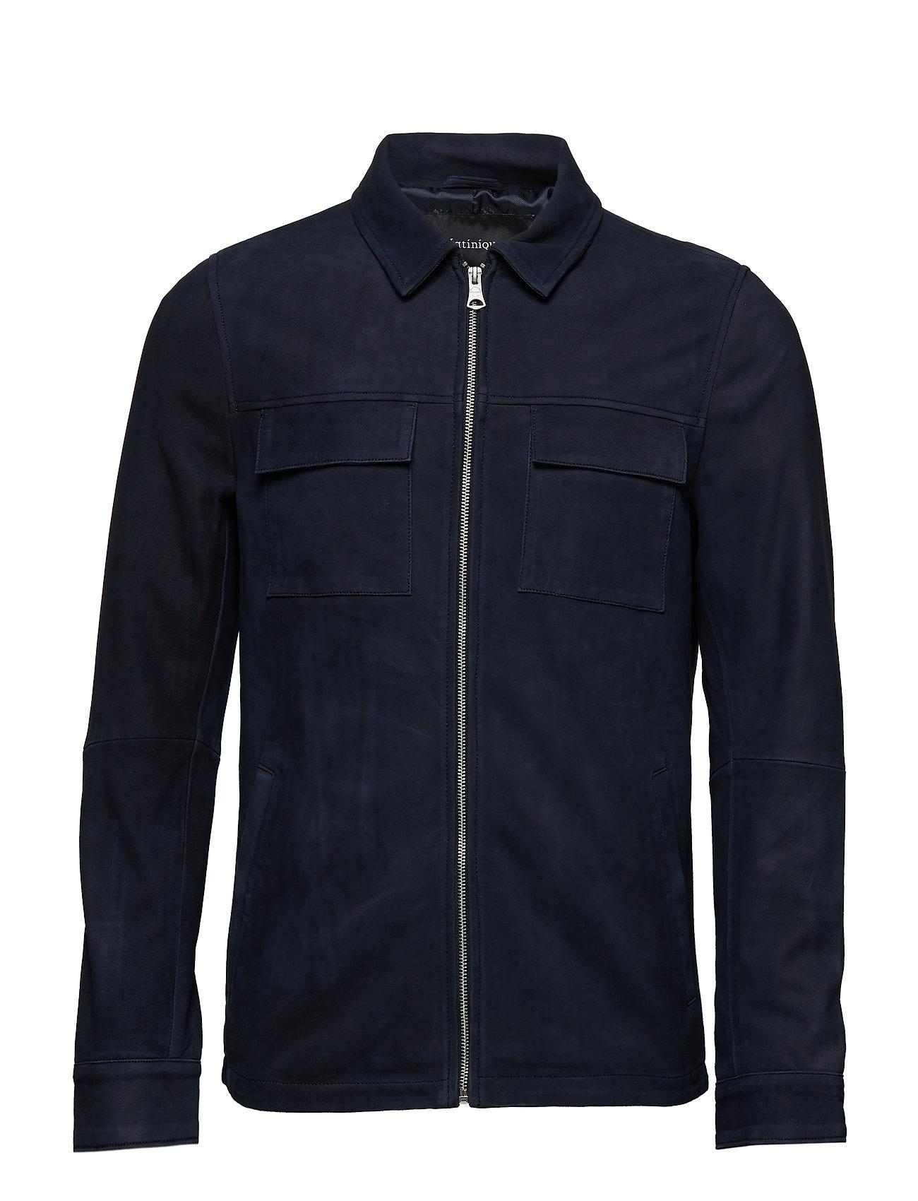 Matinique Runn Shirt Jacket - DARK NAVY