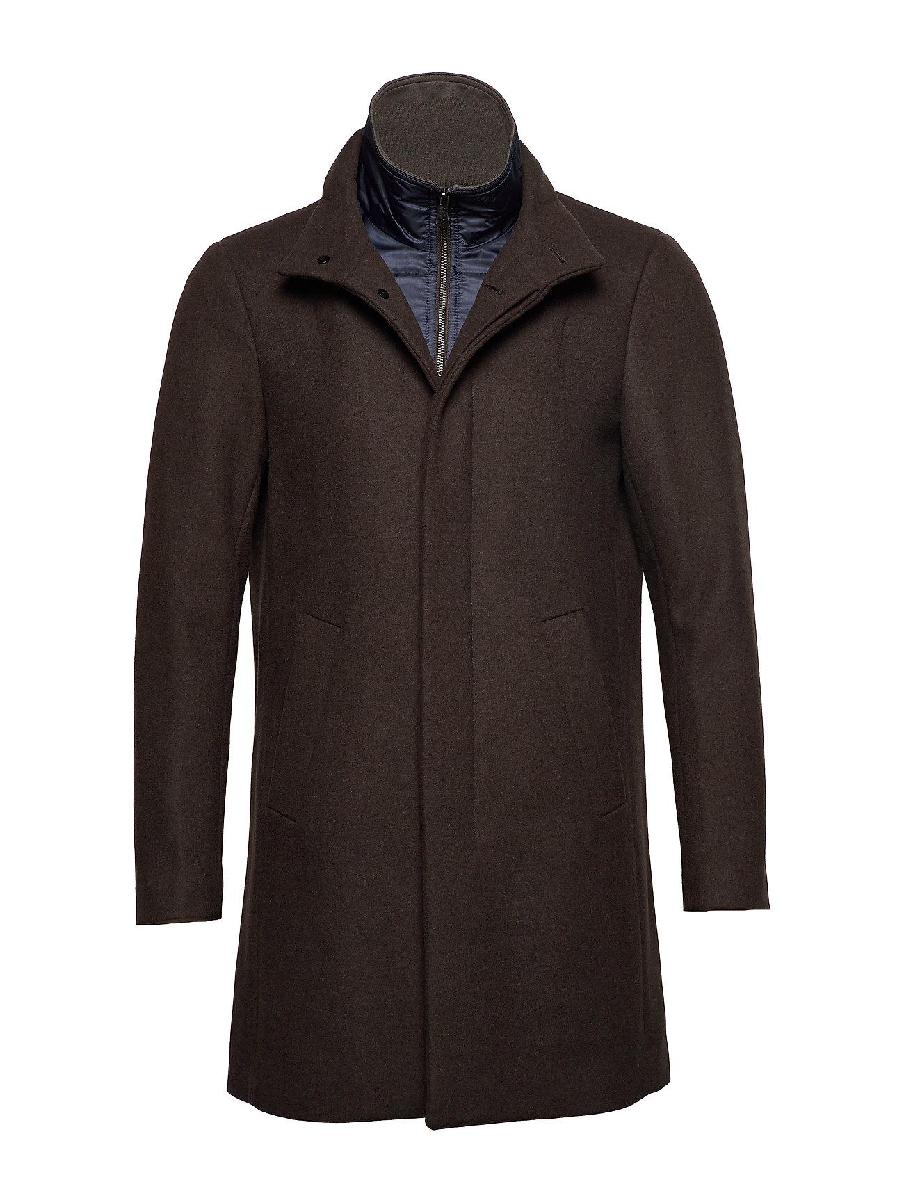 Matinique Harvey N Classic wool - DARK BROWN
