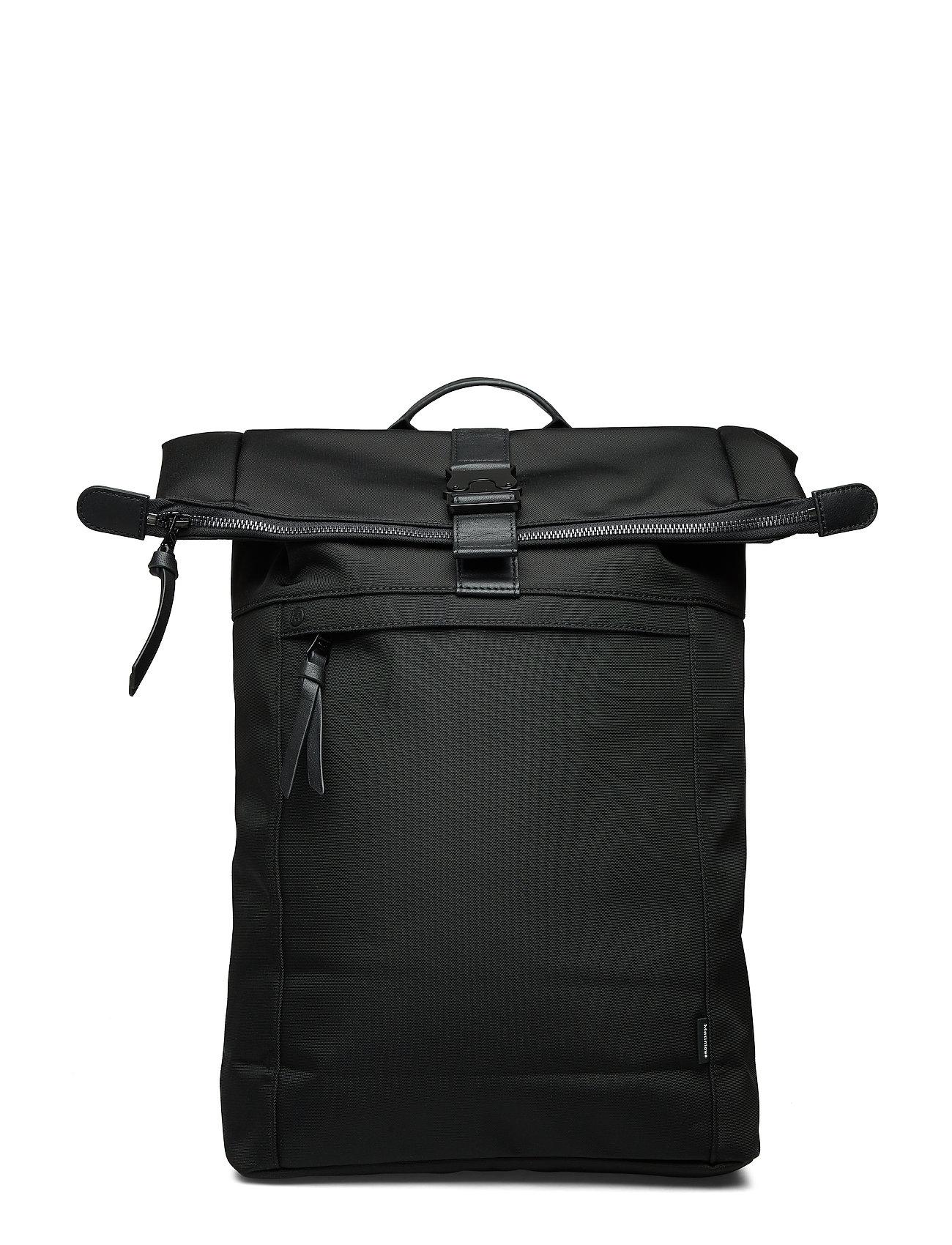 Matinique FoldanMA Backpack Nylon Bag - BLACK