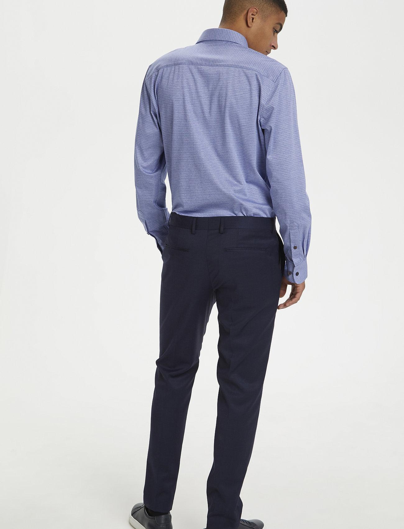 Matinique - MAmarc N - geruite overhemden - ink blue - 3