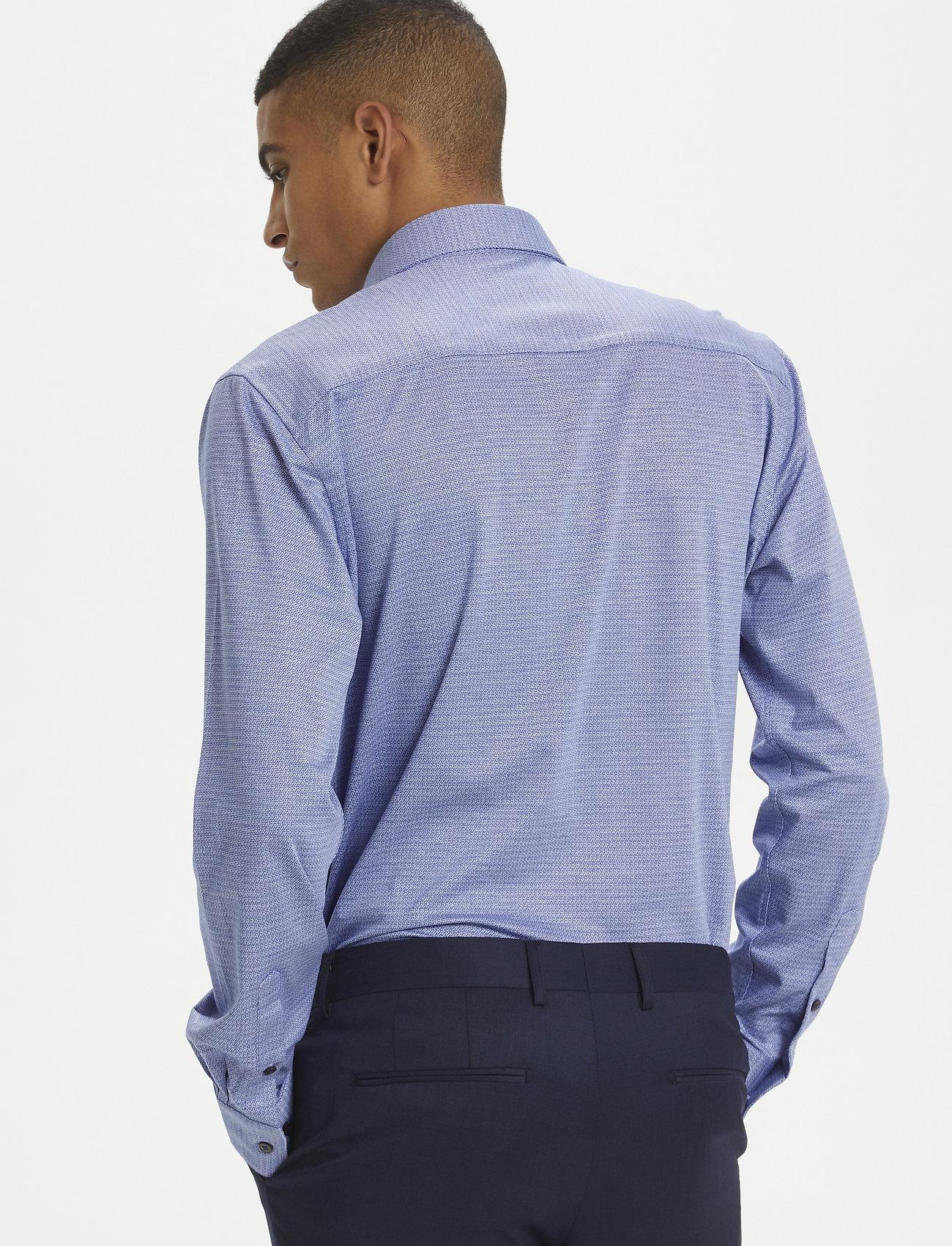 Matinique - MAmarc N - geruite overhemden - ink blue - 5