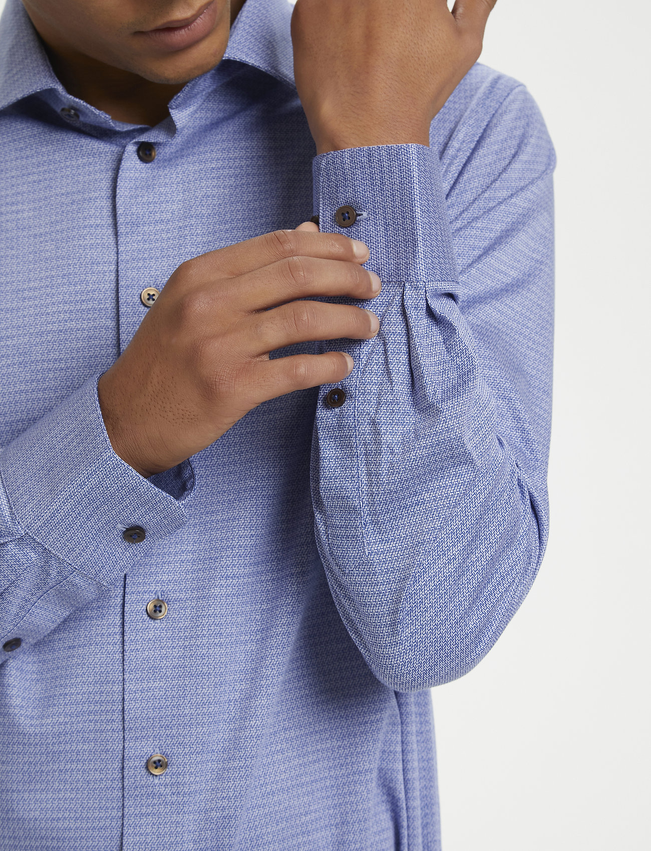 Matinique - MAmarc N - geruite overhemden - ink blue - 6