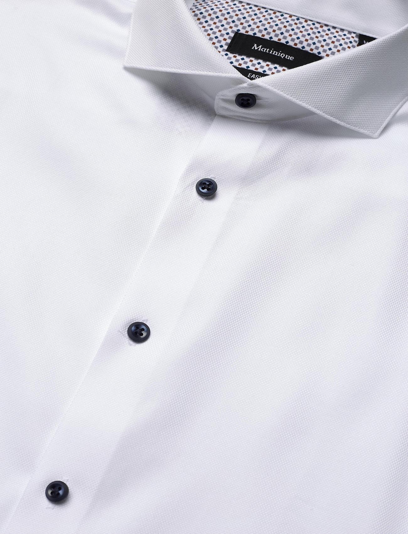 Matinique MAtrostol BC3 - Skjorter WHITE - Menn Klær