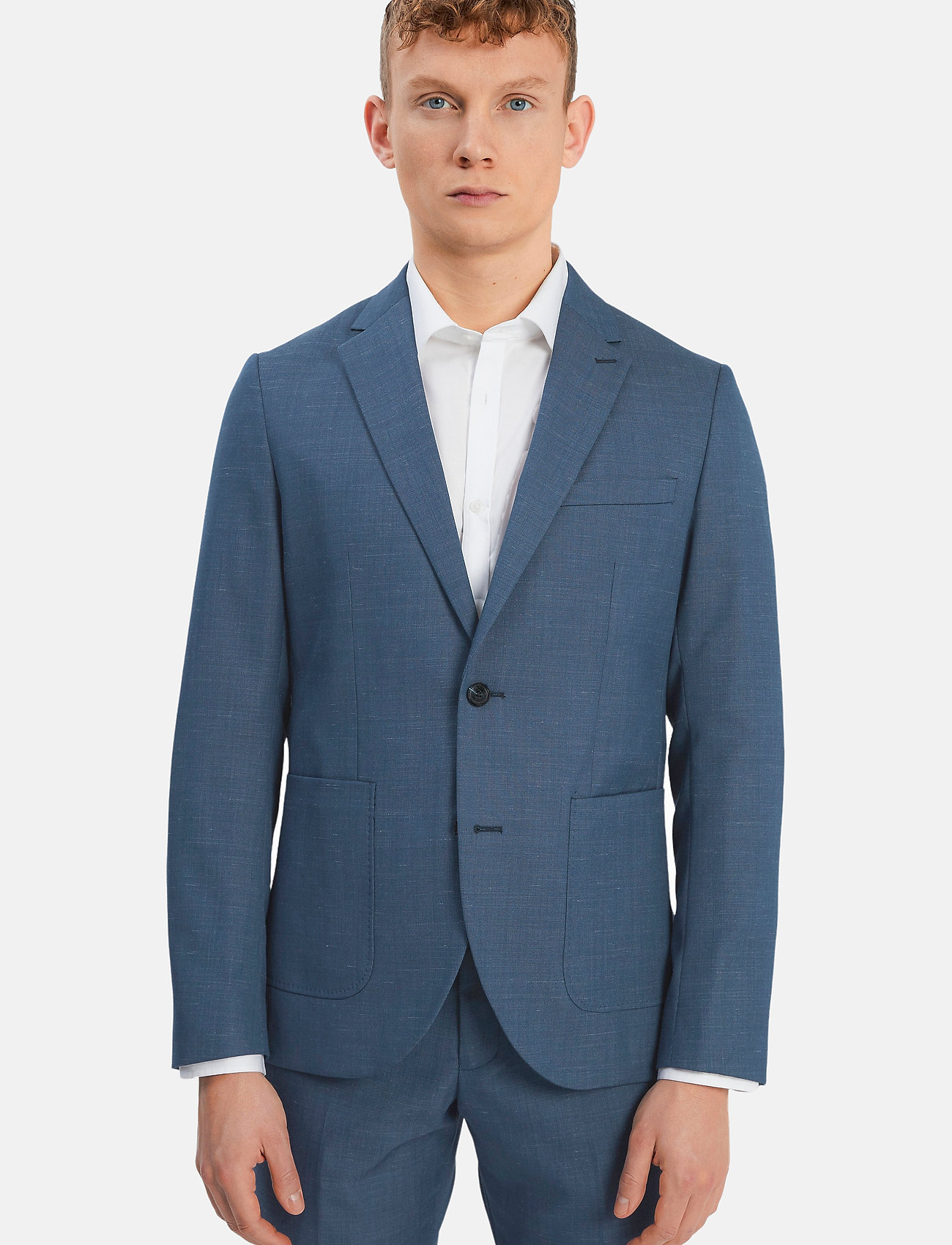 Matinique - MAgeorge - single breasted blazers - ink blue - 0