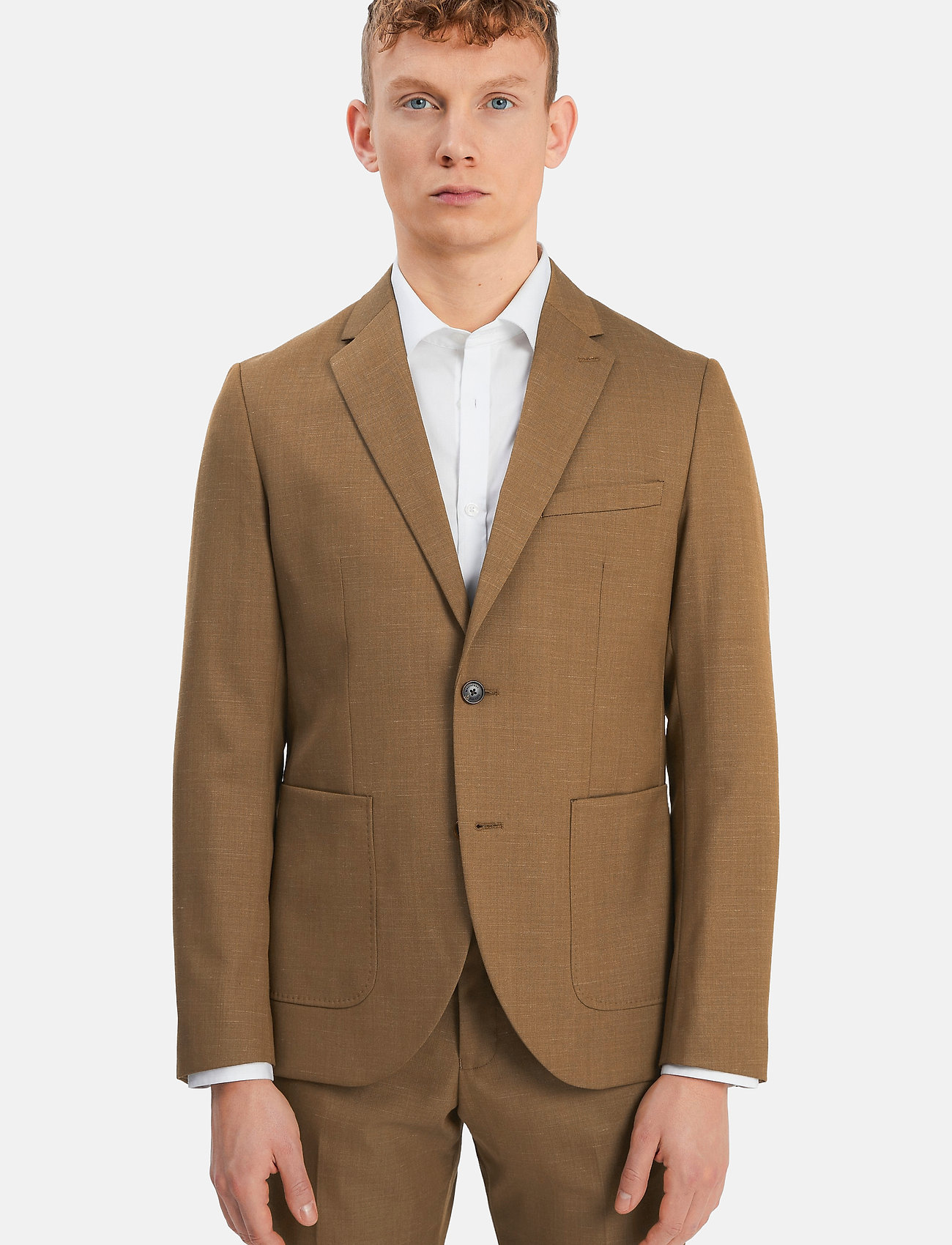 Matinique - MAgeorge - single breasted blazers - nutmeg - 0
