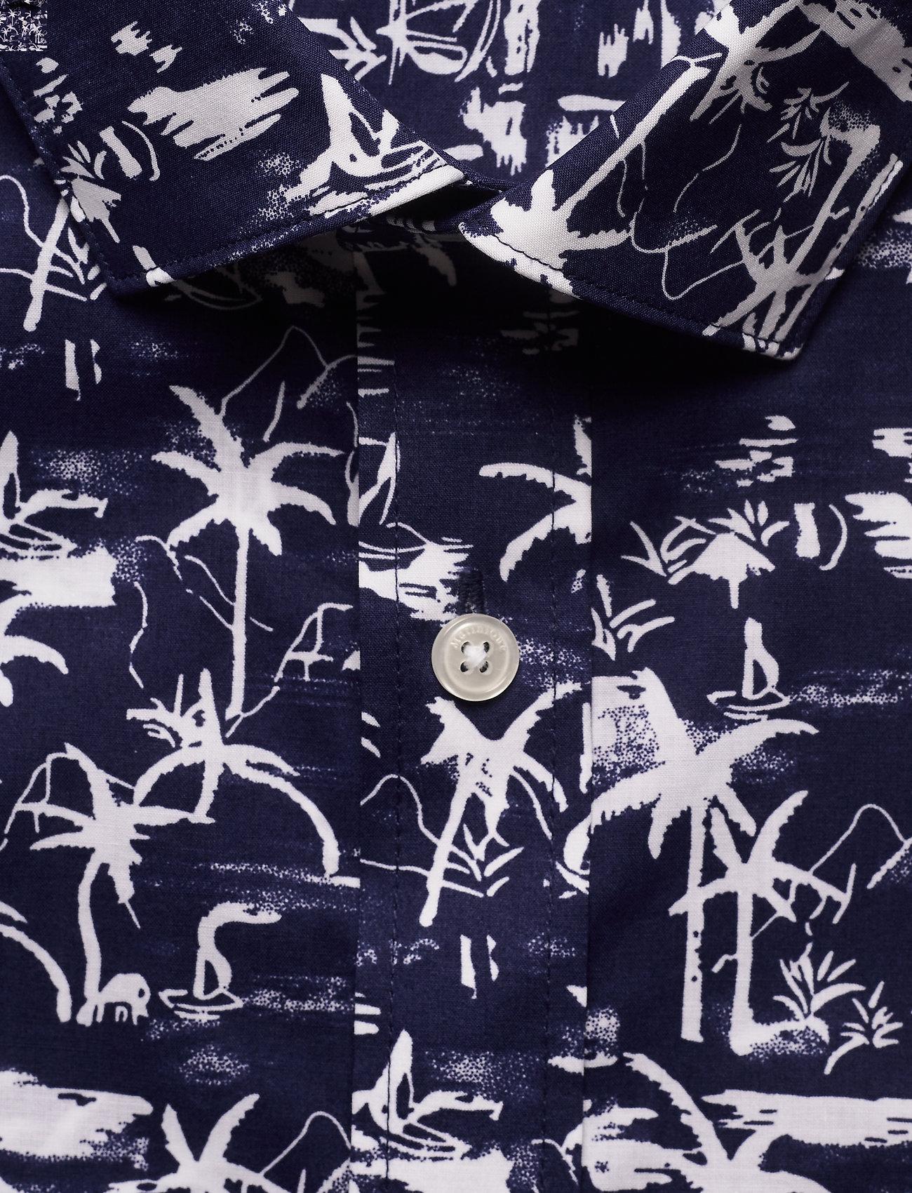 Matinique - MAtrostol SS - geruite overhemden - vallarta blue - 8