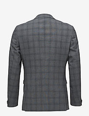 Matinique - George F Grey Check - yksiriviset bleiserit - med.grey melange - 1