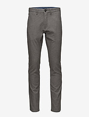 Matinique - Pristu CM Brushed Grey - suit trousers - grey shade - 0