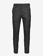 Paton Jersey Pant (Dark Grey Melange) (519.35 kr