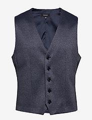 Matinique - MAlogan 1 Jersey - waistcoats - dust blue - 1