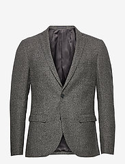 Matinique - MAgeorge F - single breasted blazers - steel grey - 0