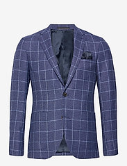 Matinique - MAgeorge - single breasted blazers - dust blue - 1
