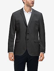 Matinique - BARRET B - single breasted blazers - dark grey mel - 2