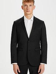 Matinique - George F - single breasted blazers - black - 0