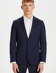 Matinique - George F - single breasted blazers - dark navy - 0