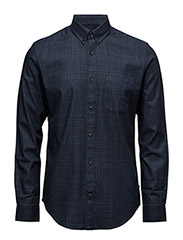 Trostol Indigo check - DARK NAVY