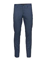 Las Chalk Blue Suit - CHALK BLUE