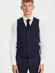 Matinique - Breck - waistcoats - dark navy - 0